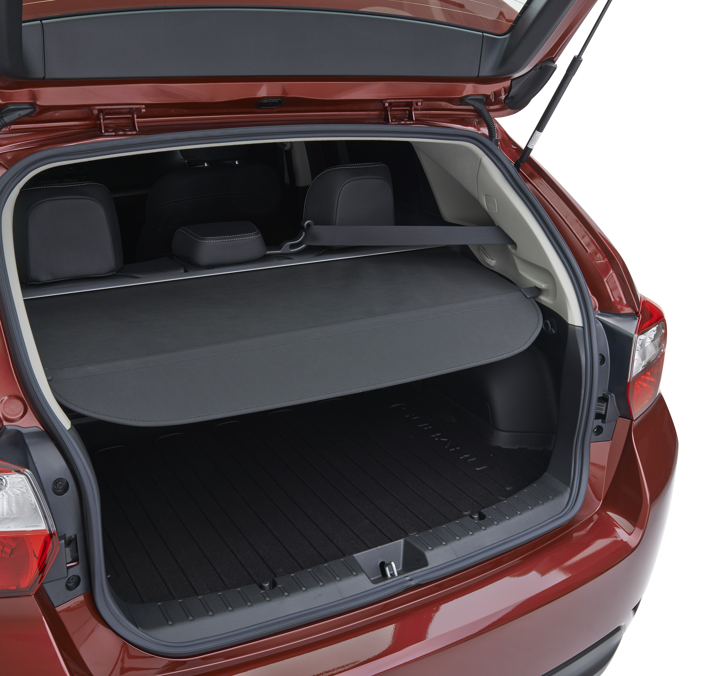 Subaru Luggage Compartment Cover. Helps To