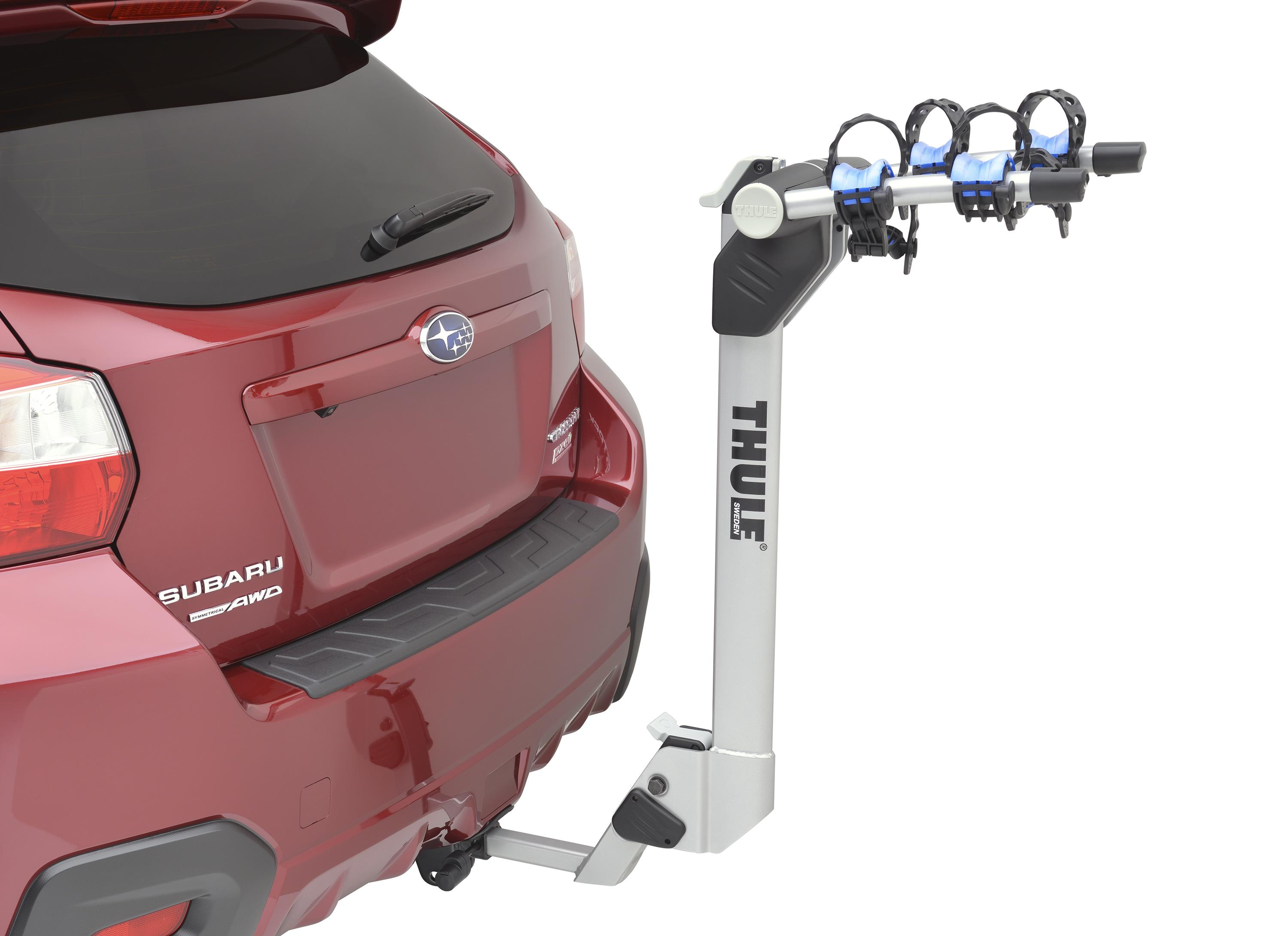 2017 Subaru Forester Hitch Mounted Bike Carrier Thule