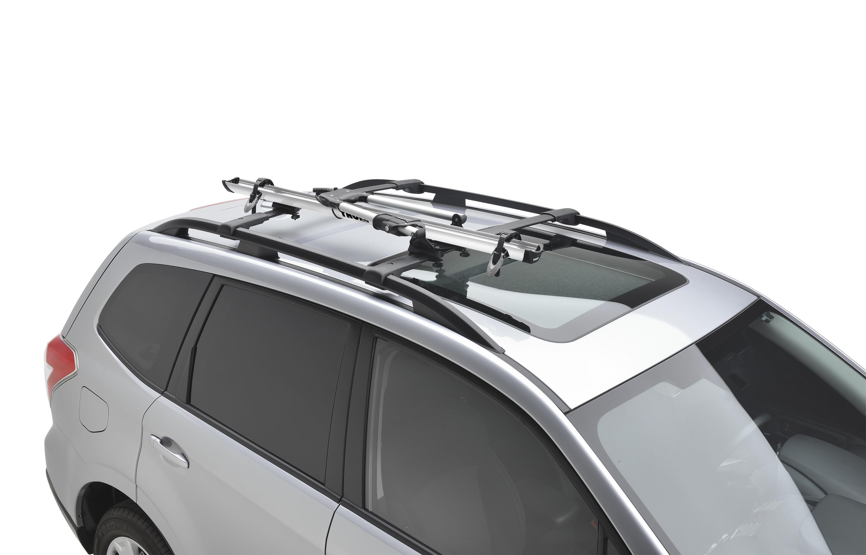 Subaru Crosstrek Thule 174 Bike Carrier Roof Mounted Lock
